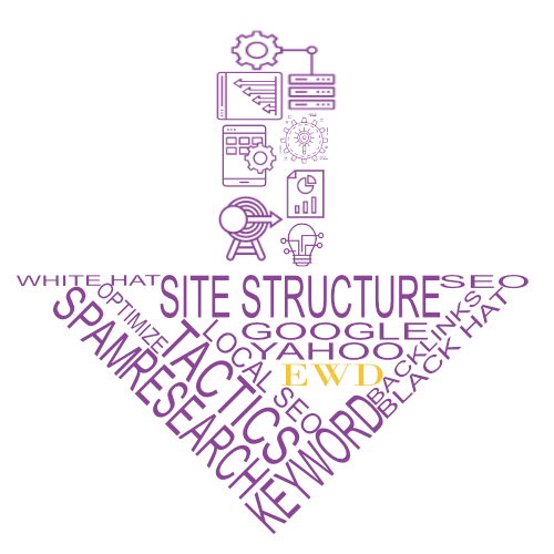 Envision Web Design SEO arrow image